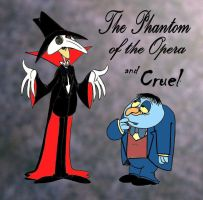 The Phantom and Cruel by Granitoons