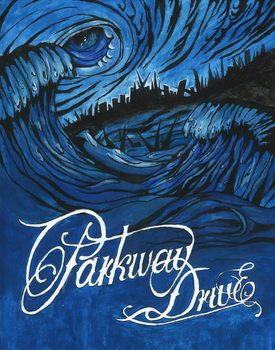 Parkway Drive - Deep Blue by R0RIE