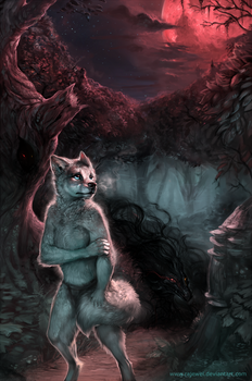 Lahkia: Heir of Darkness Cover by rajewel