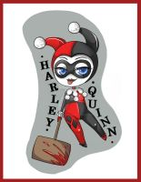 Harley Quinn Keyring by Chao-Illustrations