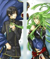AXsample:  CodeGeass Bookmark by TsubasaNoUmi