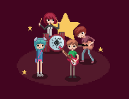 Scott Pilgrim by Dehtyar