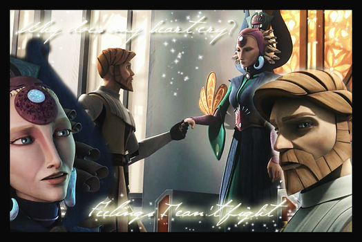 Satine and Obi-Wan by LaraStrong