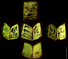 My Evil Dead Necronomicon Book of the Dead by james7371