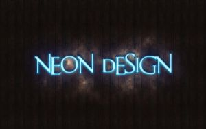 Neon Design by Del11boy