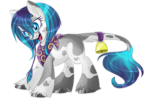 Crazy Cow-Pony [AUCTION] paypal/points [CLOSED] by BlackFreya