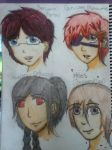 HOUSE OCs: Meet the gang..Almost by Soul-Reaper-Allison