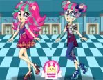 Sour Sweet School Spirit Style Dress Up by heglys
