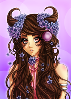 Color-Contest: Bloom (Lines by ArtistiqueMuoi) by Shampie