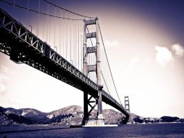 Golden gate bridge 1 by PinkLlama123