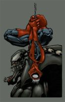 spideyandvenom COLOR by slur