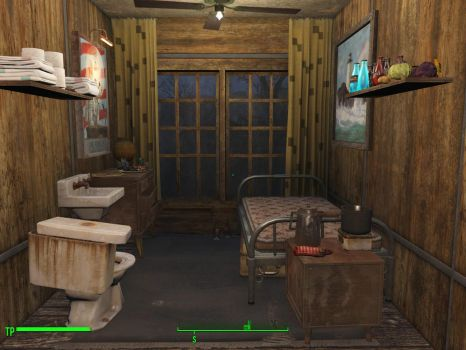 Fallout 4 1-Settler appartment by WarMocK