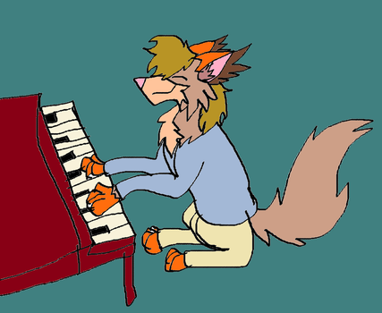 Winslow Leach at the Piano by littlebugp