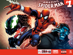 The amazing Spiderman sketch cover by AlonsoEspinoza