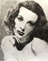 Hedy Lamarr (re) by SHParsons