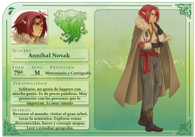 Annibal Novak by SoftBluewind