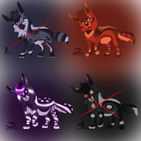 Demon Wolves Point Auction![CLOSED] by xX-SayuriAdopts-Xx