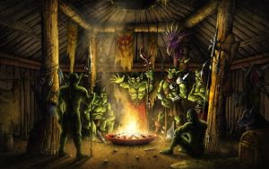 Orc Council by PeterSiedlArt