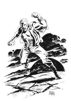 DOC SAVAGE by benitogallego