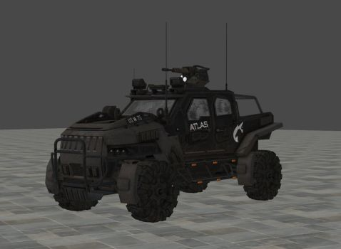 COD AW - Atlas Humvee For Xps by kalash-1947