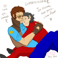 TF2CV: GabryxLiam Huggie Color by Mags98033