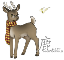 LLGold : Prongs by ShinshiAdoptables