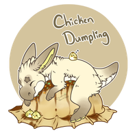 Gumdrop Raptor Adoptable: Chicken Dumpling! by SierratheSharkDoge