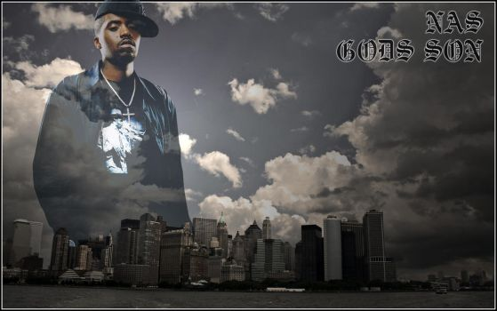 Nas over New York by colombian305