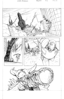 ROULETTE Page 1 (pencils) by JZINGERMAN