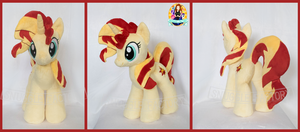 Sunset Shimmer Custom Plushie by SnuggleFactory