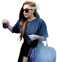 Lady GaGa PNG (Louis Vuitton Brown) by Elliott-Lee-Blogger