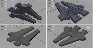 Starfarer's Battlecruiser WIP II by PyrZern