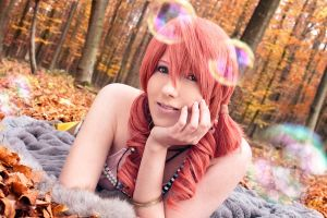 Oerba Dia Vanille - sweet smile by Dark-Uke