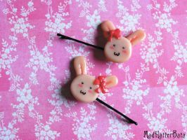 Bunny Clips by MadHatterBata