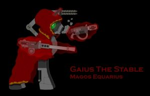 Dark Horsey: Gaius the Stable by ClaveSlayer