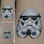 stormtrooper face paint  by a-chelsea-grin