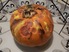 Zombie Pumpkin II by MikeHungerford