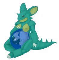 Nidoqueen Unbirth by Alkaline-Lady by CyrusTarber