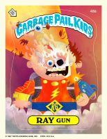 Garbage Pail Kids - Ray Gun by MattKaufenberg