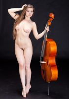 Jesse June and a cello 1 by huitphotography