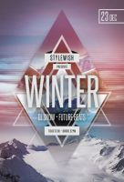 Winter Party Flyer by styleWish