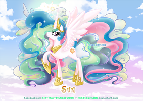 Equestria Elements serie - Princess Celestia - Sun by Nekoi-Echizen