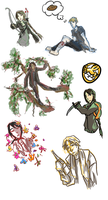 Hunger Games Dump by eight0fhearts