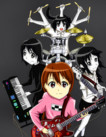 Yume Nikki Crossover K-On! by Babero