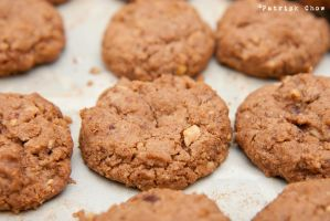 Hazelnut chocolate cookies by patchow