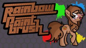 Fighting is Magic- Rainbow Paintbrush (kawaii876) by TheAljavis