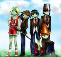 Zombies on Your Front Lawn! by MayJasmine