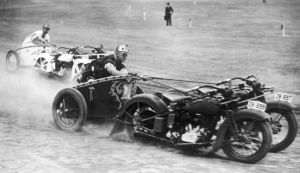 Vintage Motorcycle Races by Caveman1a