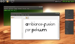 Ambiance Fusion for PekWM by ed1w2ard