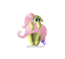 Fluttershy shy by AngelStudio-Alicorns